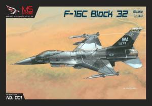 General Dynamics F-16C Block 32 Arctic Vipers 1:33