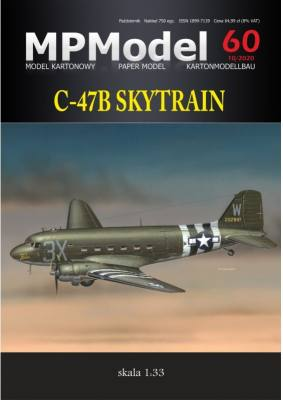 "US-Transportflugzeug C-47B SKYTRAIN 3X ""That's All... Brother"" (D-Day, 1944) 1:33"