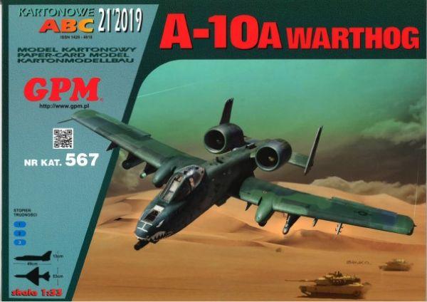 A 10 Warthog Thunderbolt Ii Komplett 1 33 Gpm 567