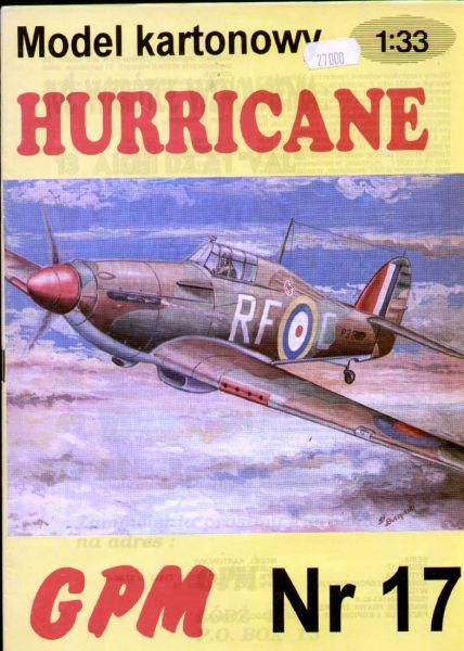 Hawker Hurricane Aufkleber