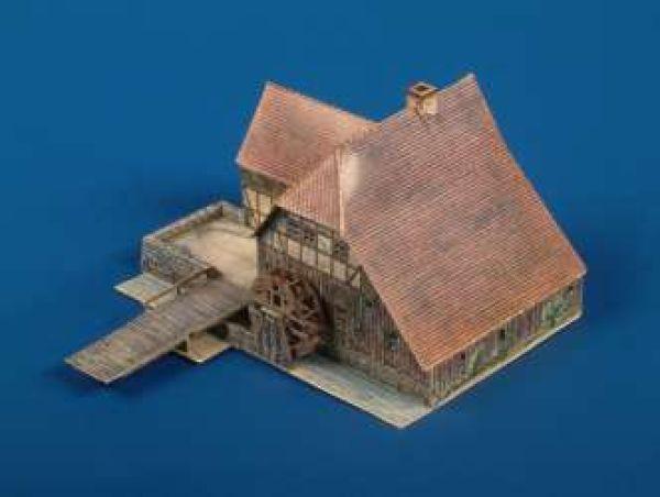 Kartonmodell Wassermühle 1:87 Schreiber Bogen