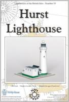 Der Leuchtturm Hurst Lighthouse ...