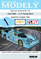 Lola T600 Grand Prix of Miami 19...